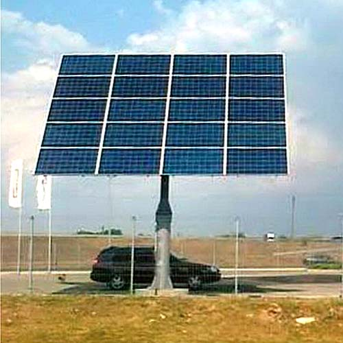 трекери двовісні dual-axis solar trackers